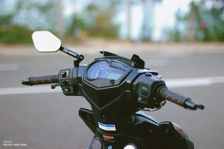 Exciter 150 trang bi bo giap day an tuong cua biker Nha Trang - 3