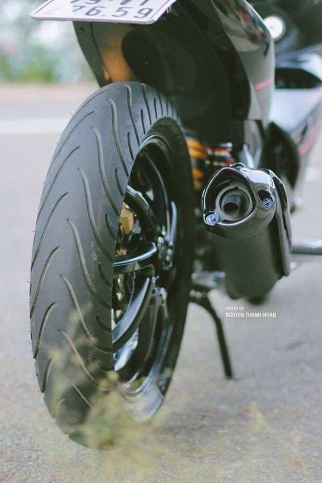 Exciter 150 trang bi bo giap day an tuong cua biker Nha Trang - 10