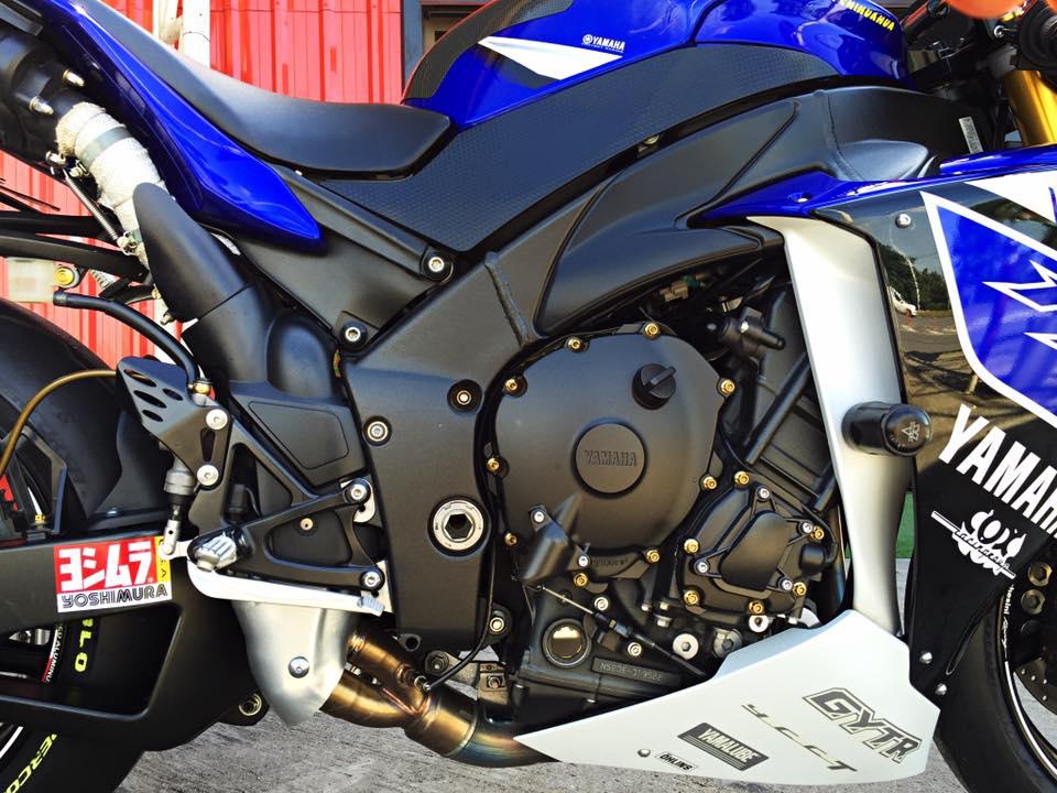Hang khung YZFR1 trang bi tan rang goi do Racing - 6