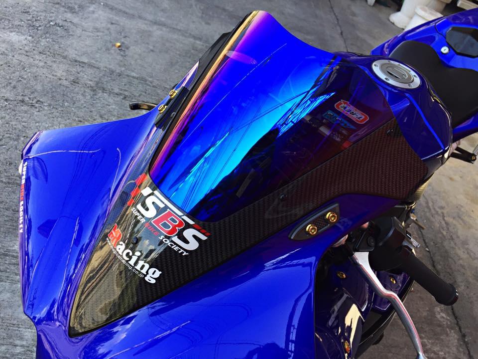 Hang khung YZFR1 trang bi tan rang goi do Racing - 10