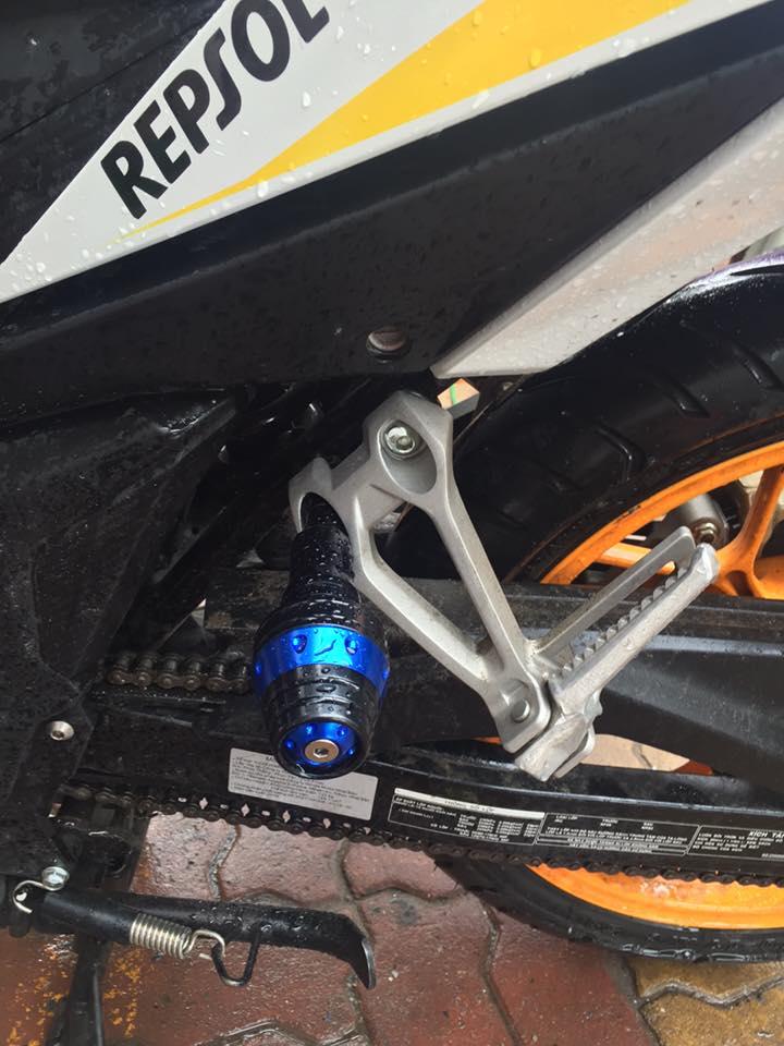 Honda Winner 150 do chat lu voi phong cach Repsol - 6