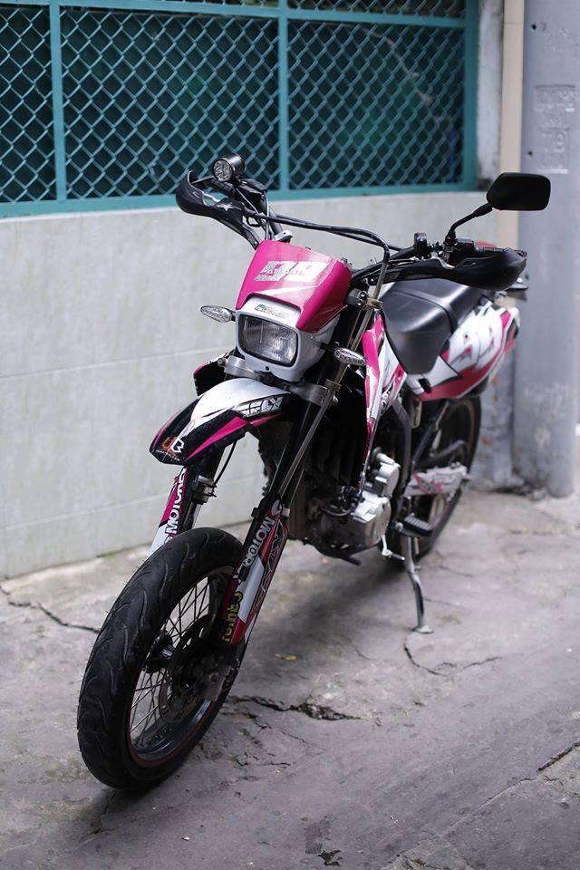 Kawasaki KLX 250 do po Akrapovic binh FCR 35 Racing va nhieu mon hay hay - 4
