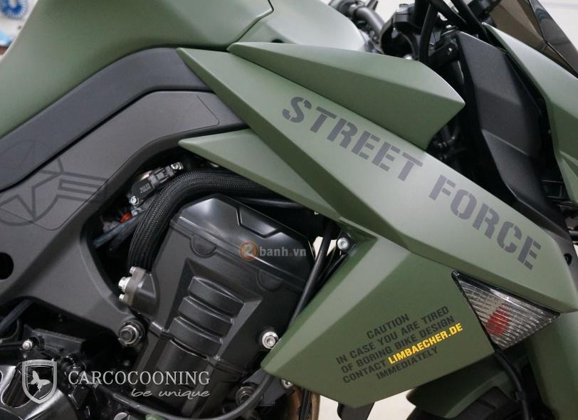 Kawasaki Z1000 an tuong trong bo canh Street Force - 2