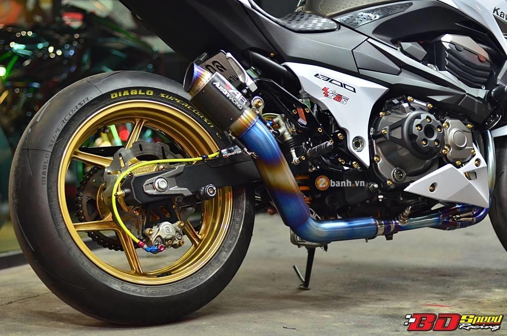 Kawasaki Z800 day kieu sa tren dat Thai - 6