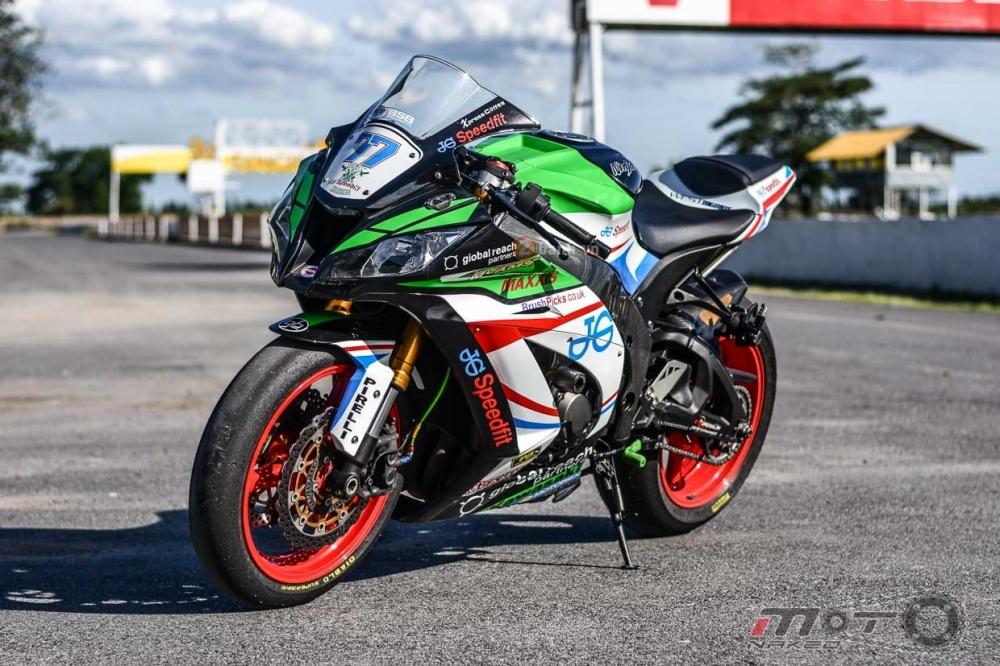 Kawasaki ZX10R do phien ban JG Speedfit dam chat xe dua - 2