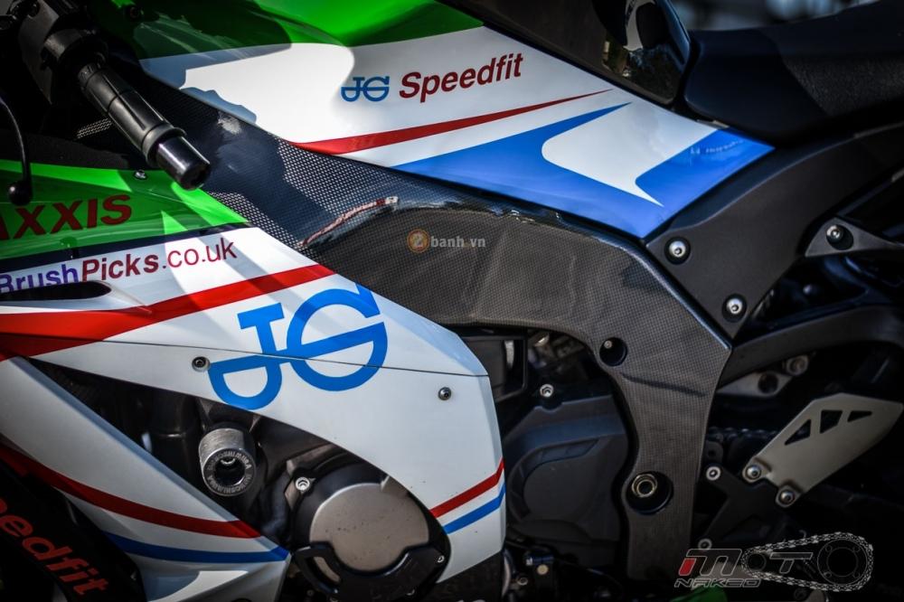 Kawasaki ZX10R do phien ban JG Speedfit dam chat xe dua - 9