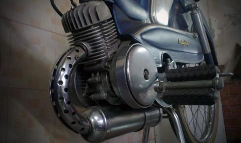 Motobecane AV88 la mau xe trong gia dinh AV cua Mobylette thuoc nhung nam 1950 - 8