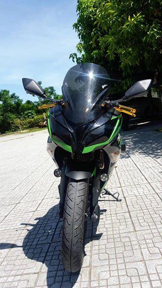 Ninja 300 phien ban ki niem 30 nam an tuong cung dan do choi hieu - 2