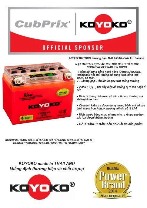 Acquy KOYOKO thuong hieu MALAYSIA Made In Thailand - 2