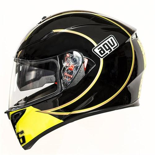 KTM Ha NoiAGV K3 Rossi Gothic 46 Ban Dong Hanh Cua Cac Tay Dua