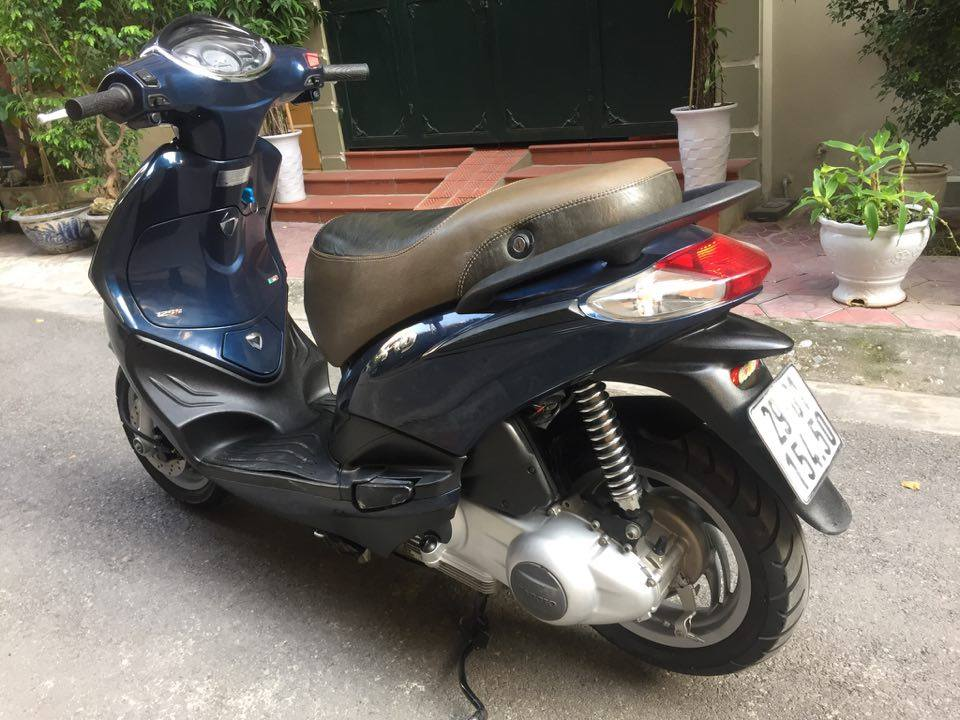 Piaggio FLY125ie doi 2012 xanh tim 29G moi 90 198 trieu vnd cho nguoi can su dung - 2