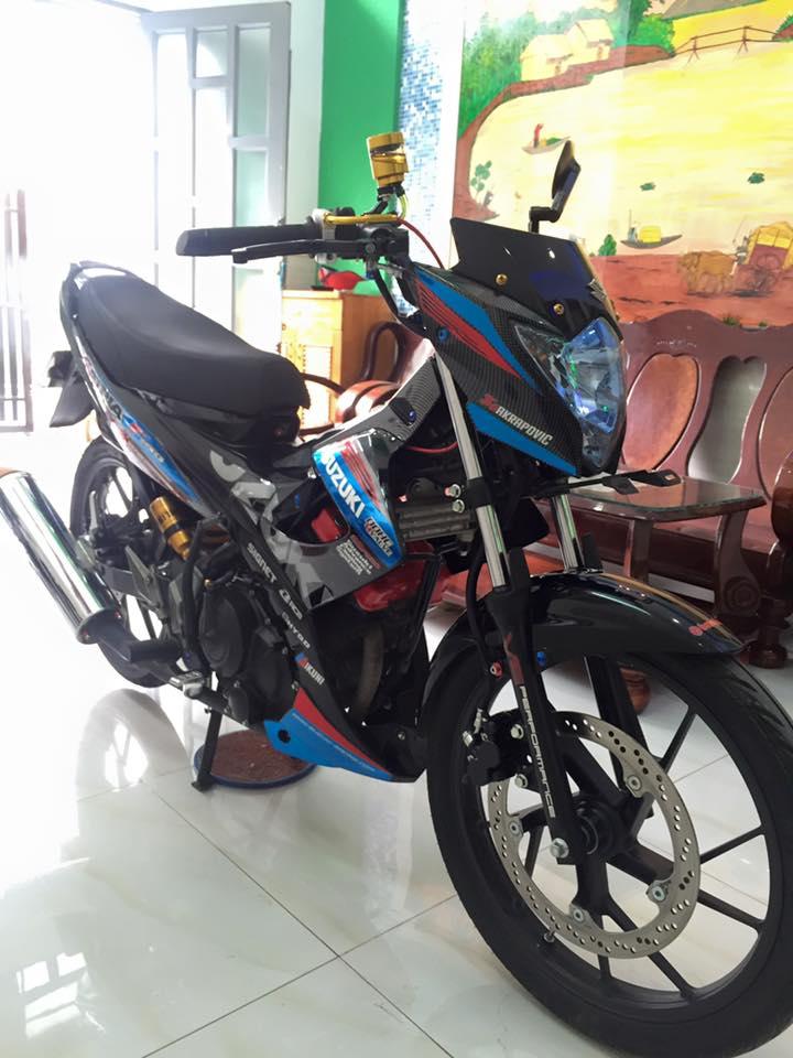 Satria F150 do hang hieu 8x trieu - 2