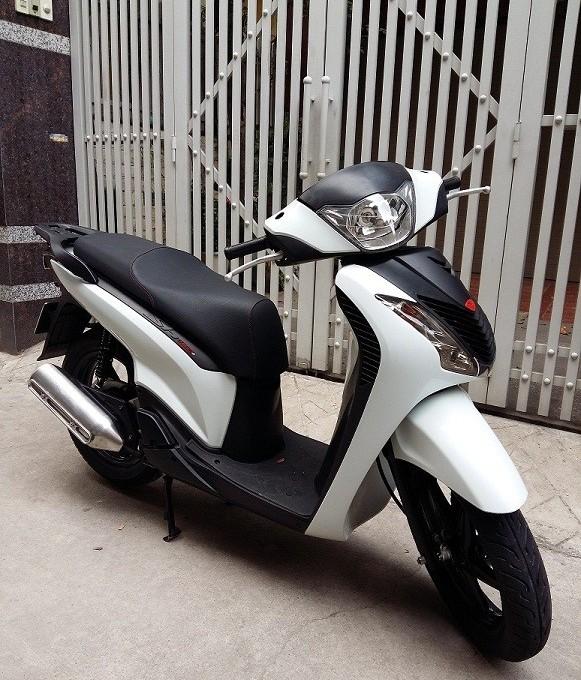 Sh125i Sport Y mau trang nhap khau 2012 - 2