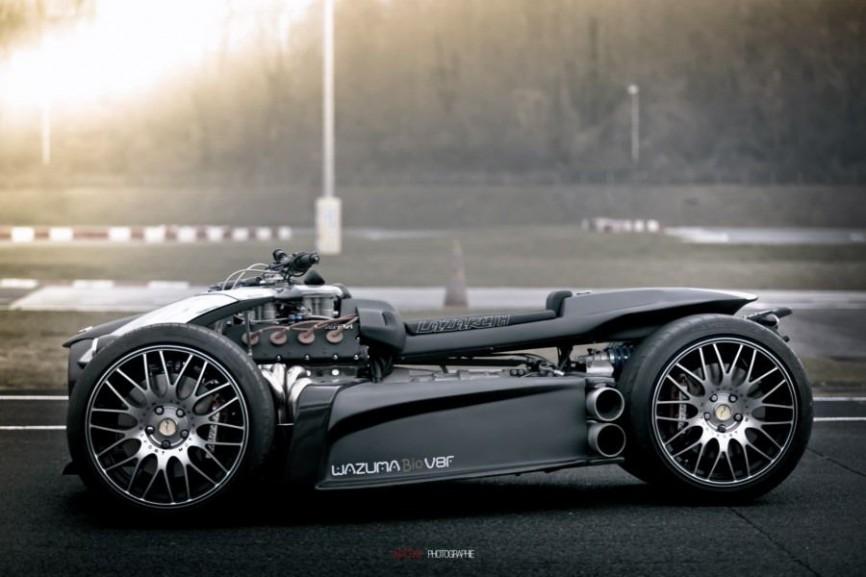 Sieu xe Wazuma V8F Matt Edition su ket hop suc manh giua R1 BMW va Ferrari - 2