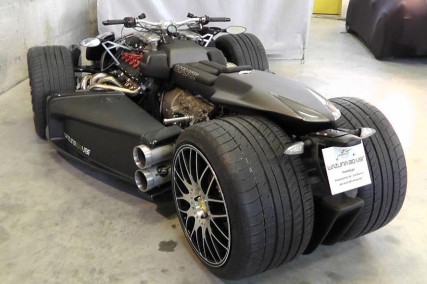 Sieu xe Wazuma V8F Matt Edition su ket hop suc manh giua R1 BMW va Ferrari - 6