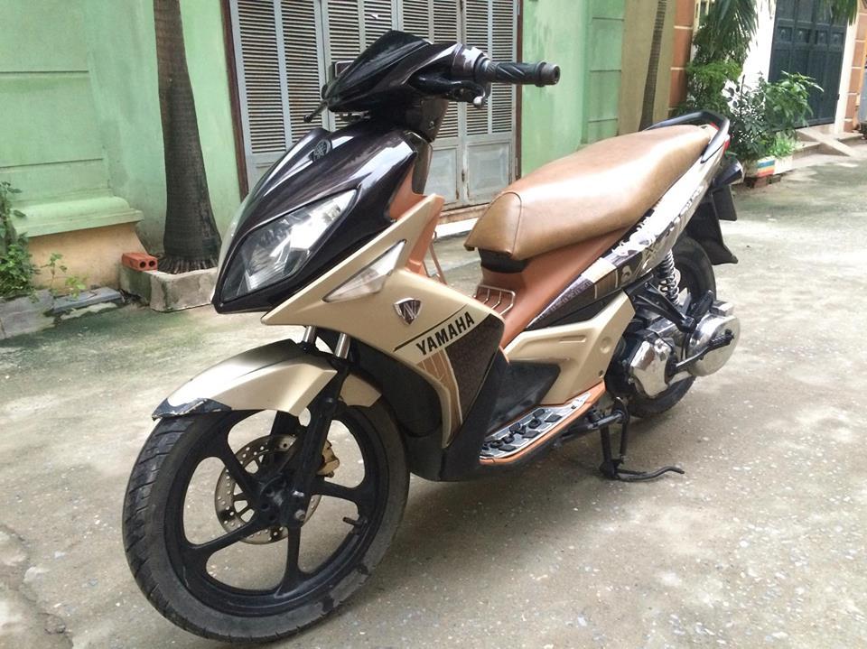 Yamaha Nouvo LX 135cc mau nau vang 2011 nhu moi - 5