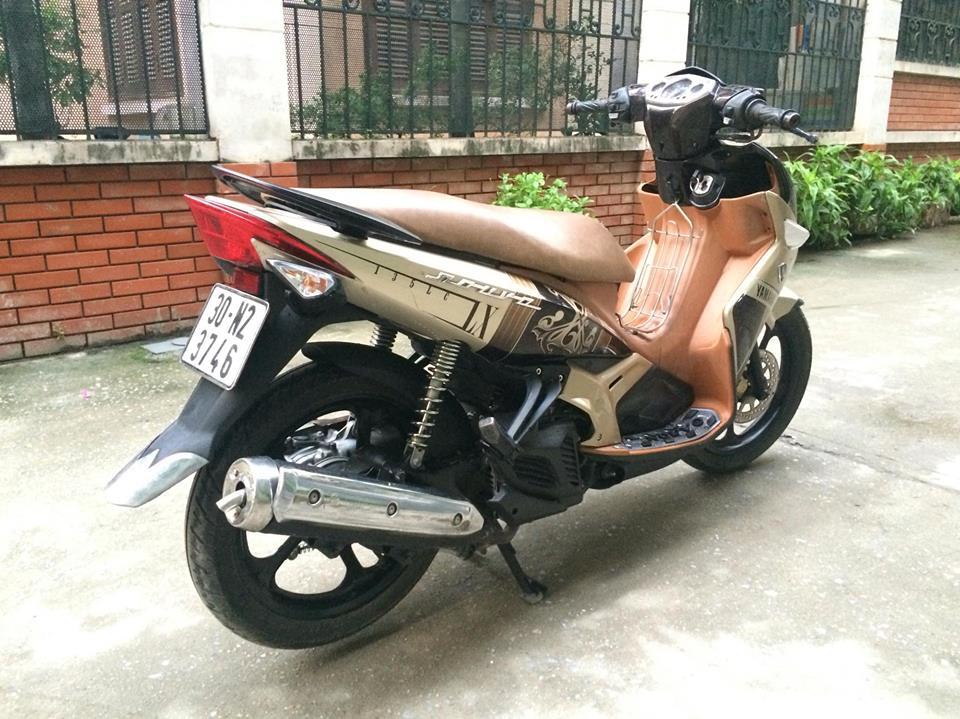 Yamaha Nouvo LX 135cc mau nau vang 2011 nhu moi - 6
