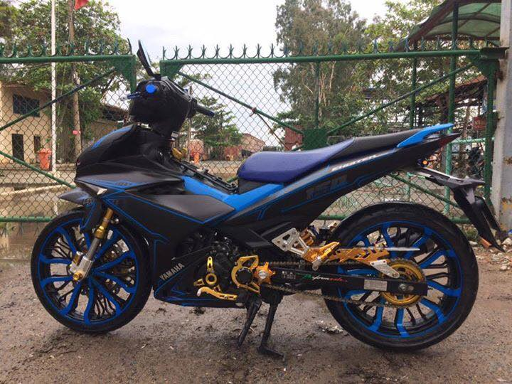 Exciter 150 don nhe voi dan chan cung cap - 2