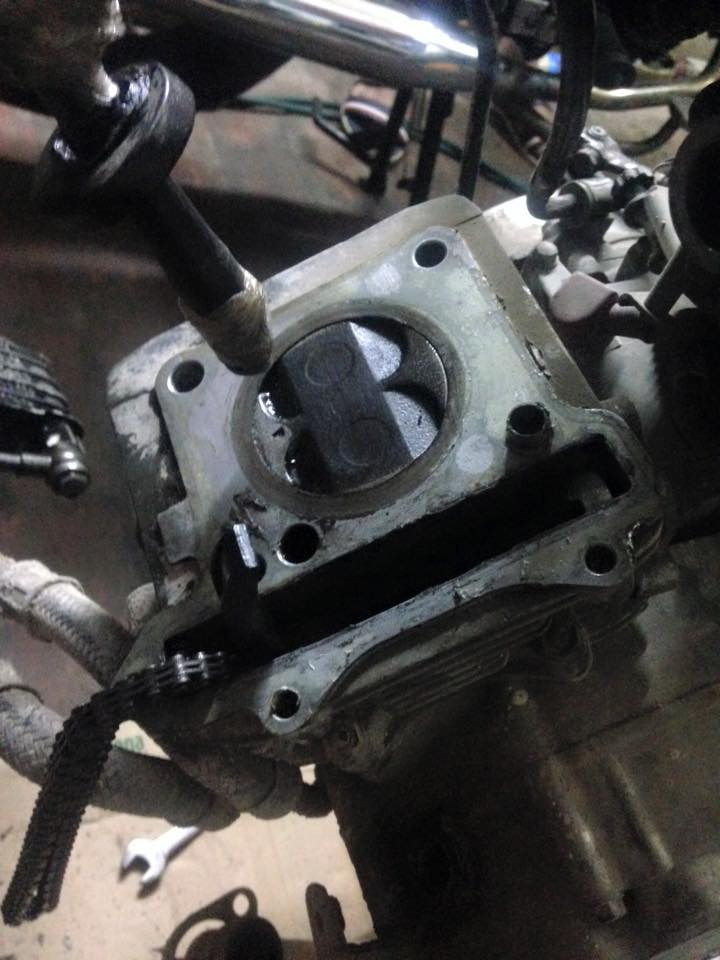 Suzuki FX125 trong cuoc phau thuat nghiem trong - 2