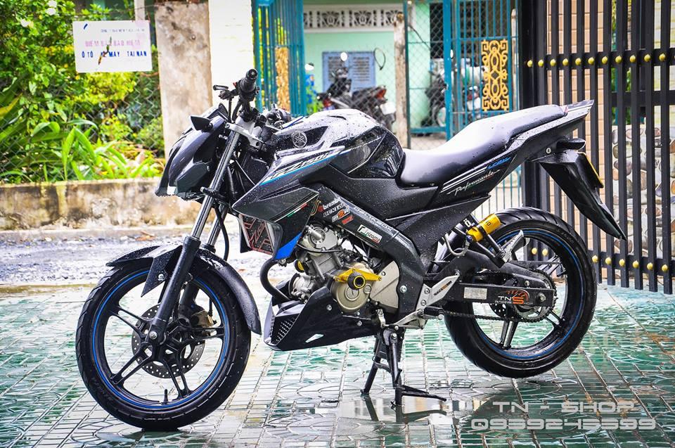 Yamaha FZ 150 trang bi nhieu option tai mien Tay song nuoc - 2