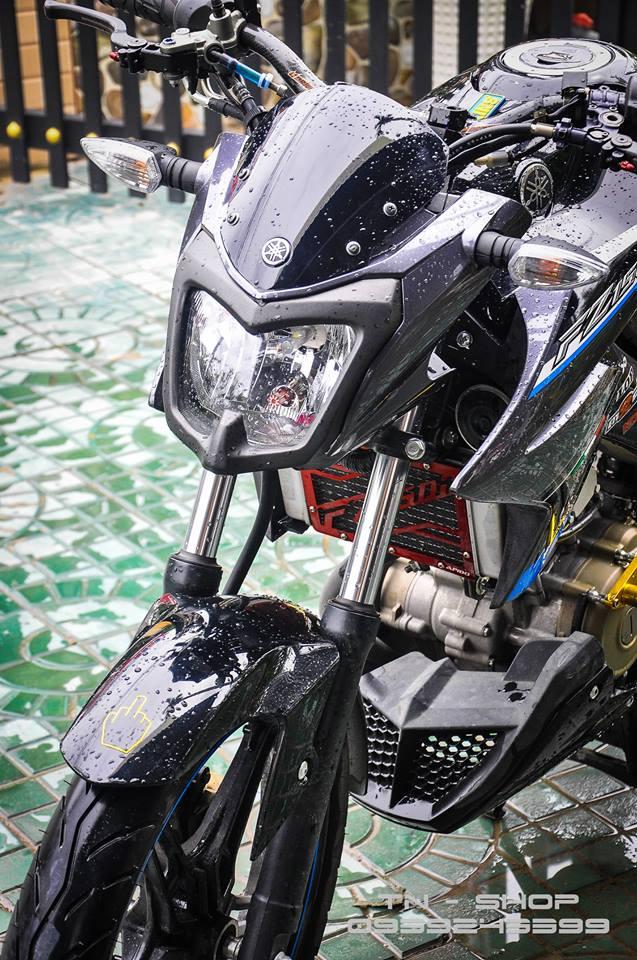 Yamaha FZ 150 trang bi nhieu option tai mien Tay song nuoc - 4
