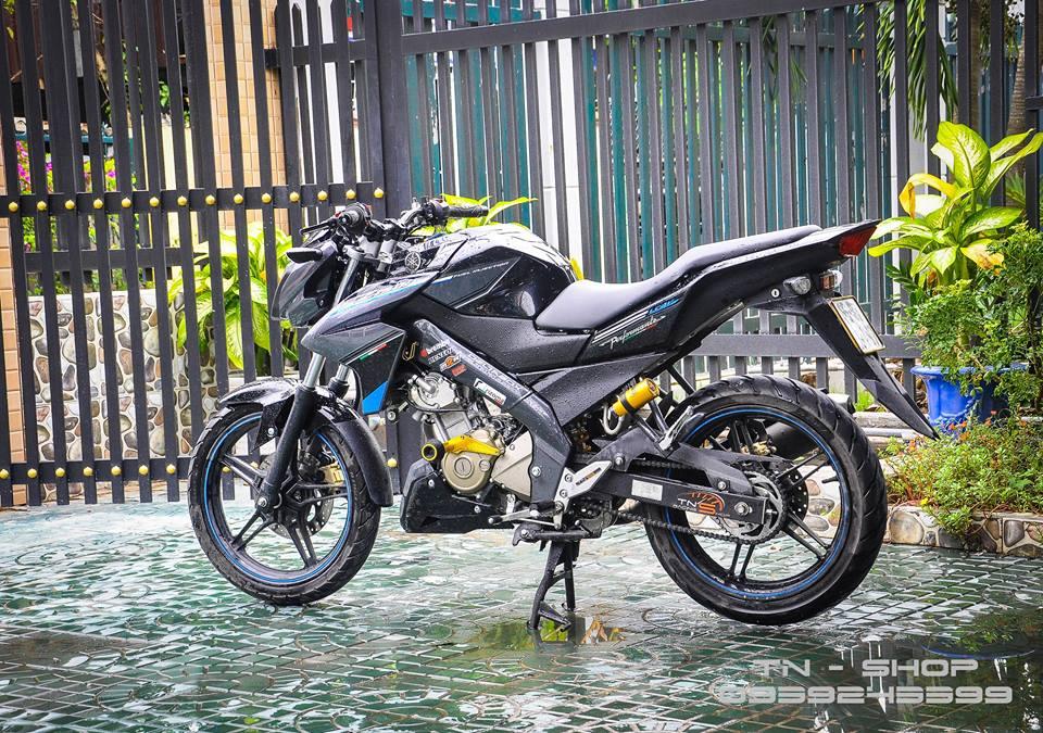 Yamaha FZ 150 trang bi nhieu option tai mien Tay song nuoc - 8