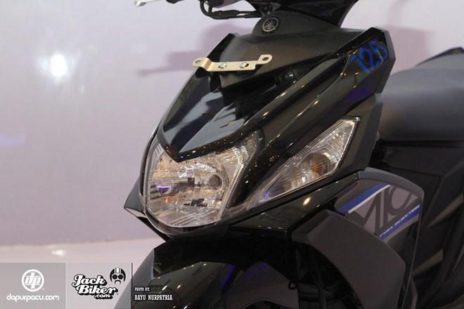 Yamaha Mio M3 xe ga danh cho phai nu voi he thong khoa da dung - 2