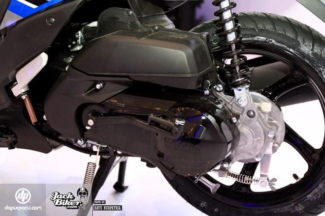 Yamaha Mio M3 xe ga danh cho phai nu voi he thong khoa da dung - 6