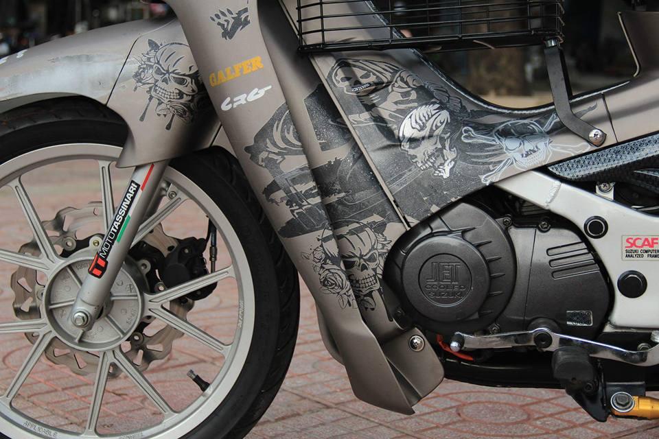 Suzuki Satria trong ban do day ma mi - 6