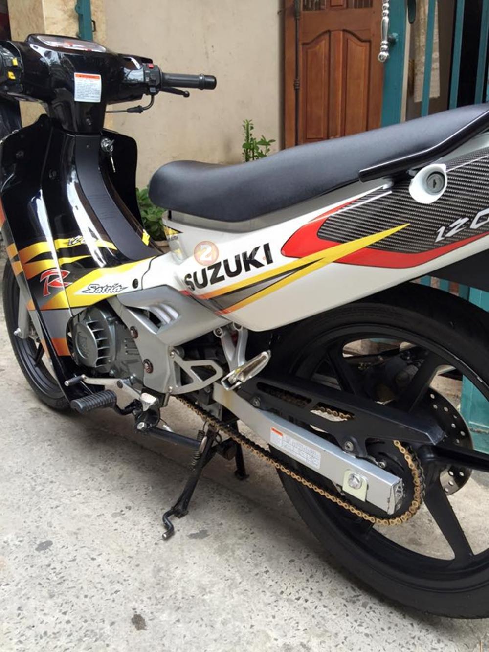 Suzuki Xipo 2000 len ao Satria dep lung linh - 10