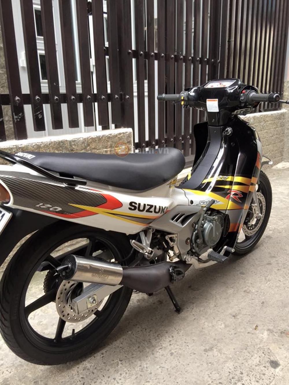 Suzuki Xipo 2000 len ao Satria dep lung linh