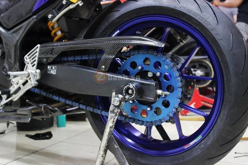 Yamaha R25 trong ban do cuc chat den tu Indonesia - 8