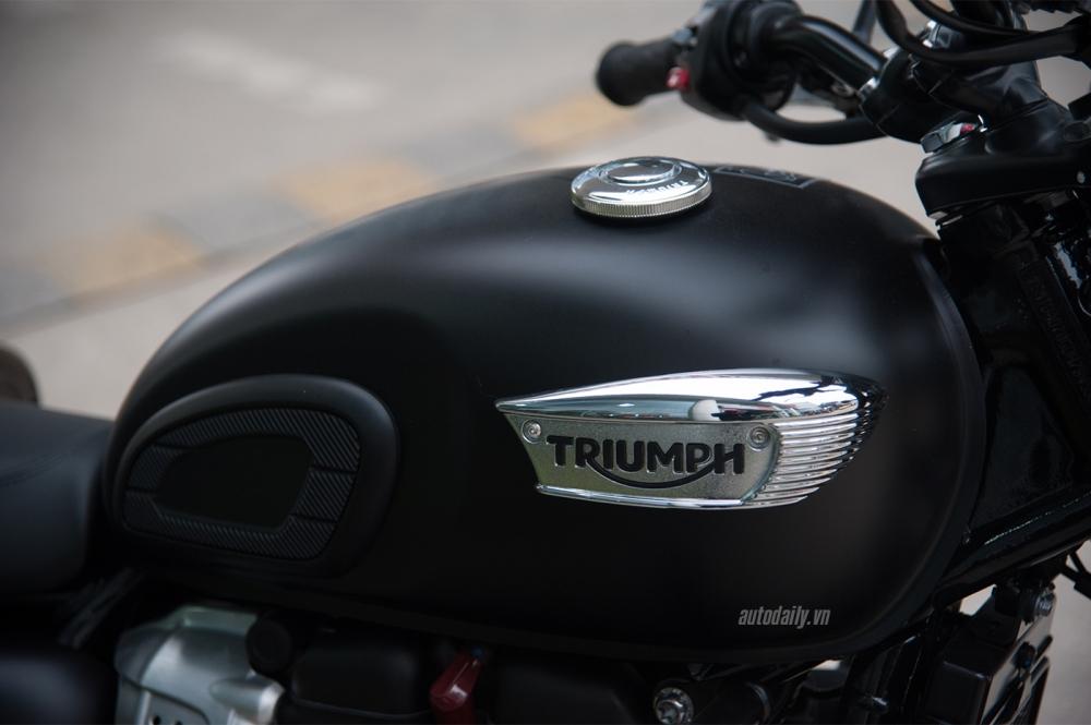 Chi tiet Triumph Bonneville T100 Black 2017 dau tien vua ve Viet Nam - 11