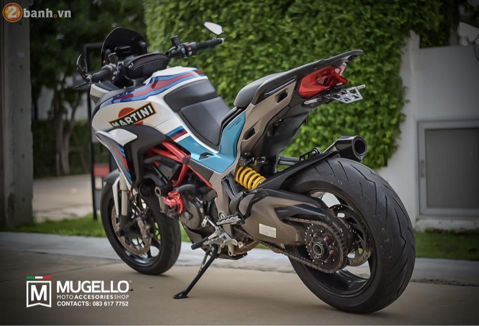 Ducati Multistrada 1200 trong ban do cuc chat va day phong cach cua nguoi Thai - 4