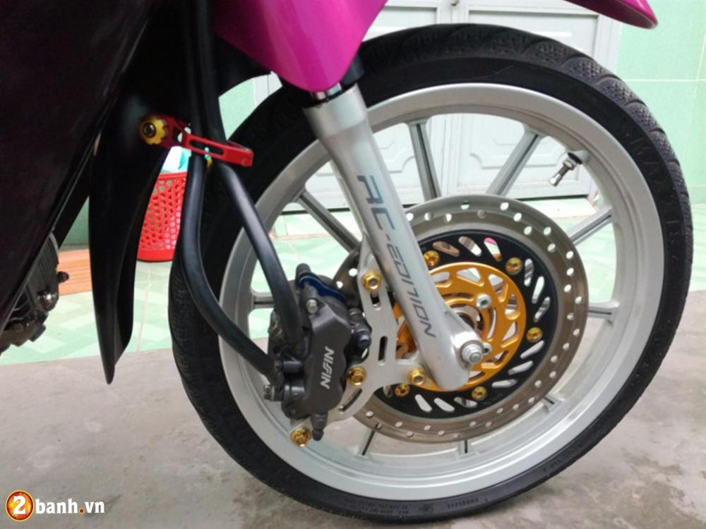 Honda Wave don nhe cuc dep voi Style trang hong rang ro - 3