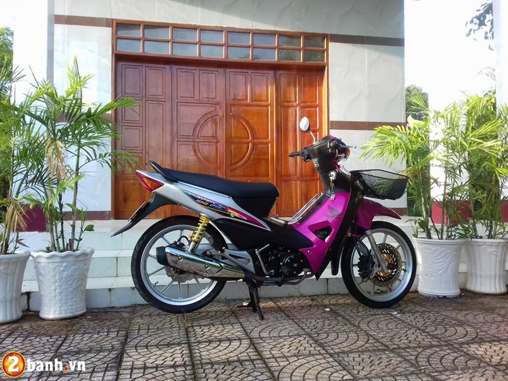Honda Wave don nhe cuc dep voi Style trang hong rang ro