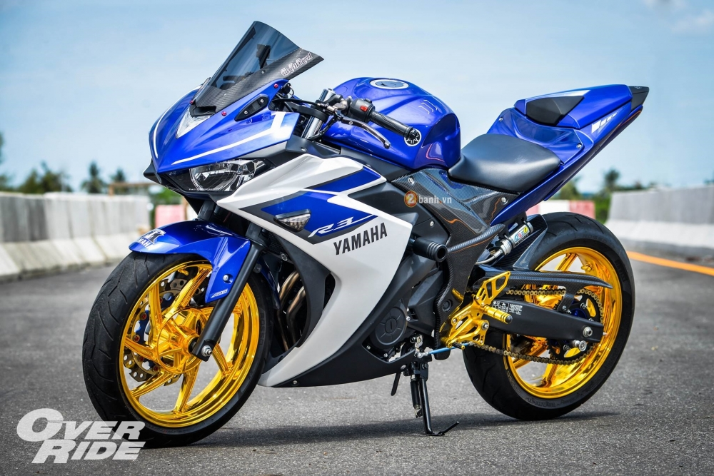 Yamaha R3 do day an tuong trong phien ban Blood RSeries - 3
