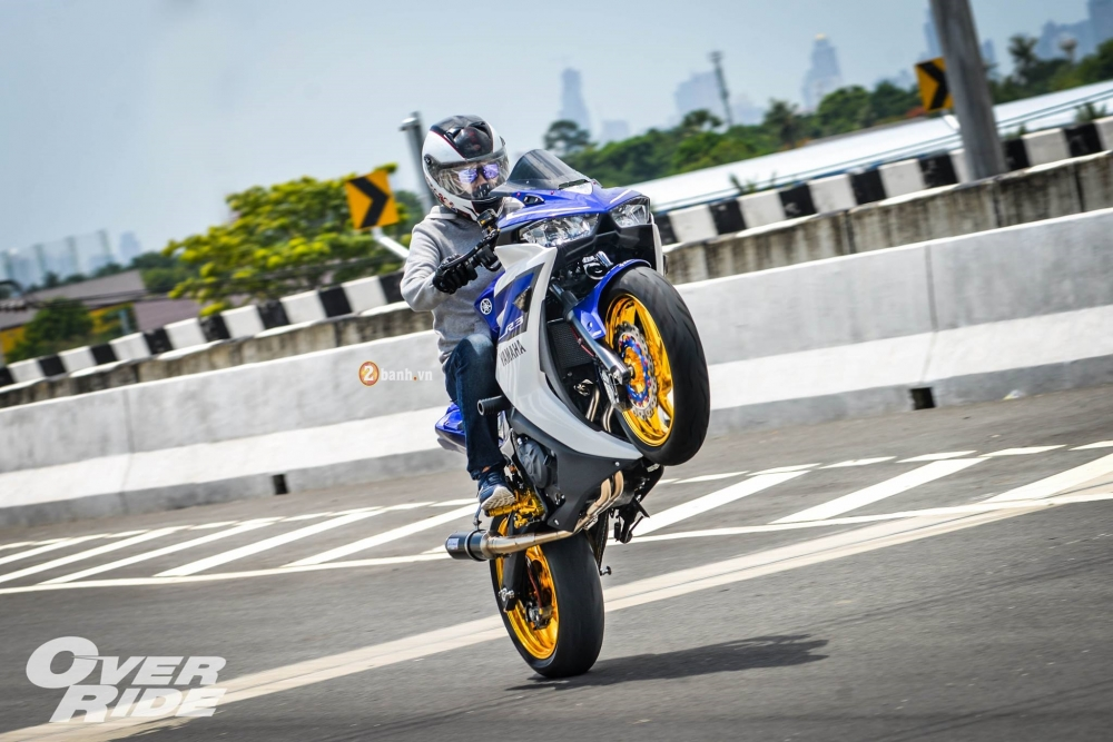 Yamaha R3 do day an tuong trong phien ban Blood RSeries - 5