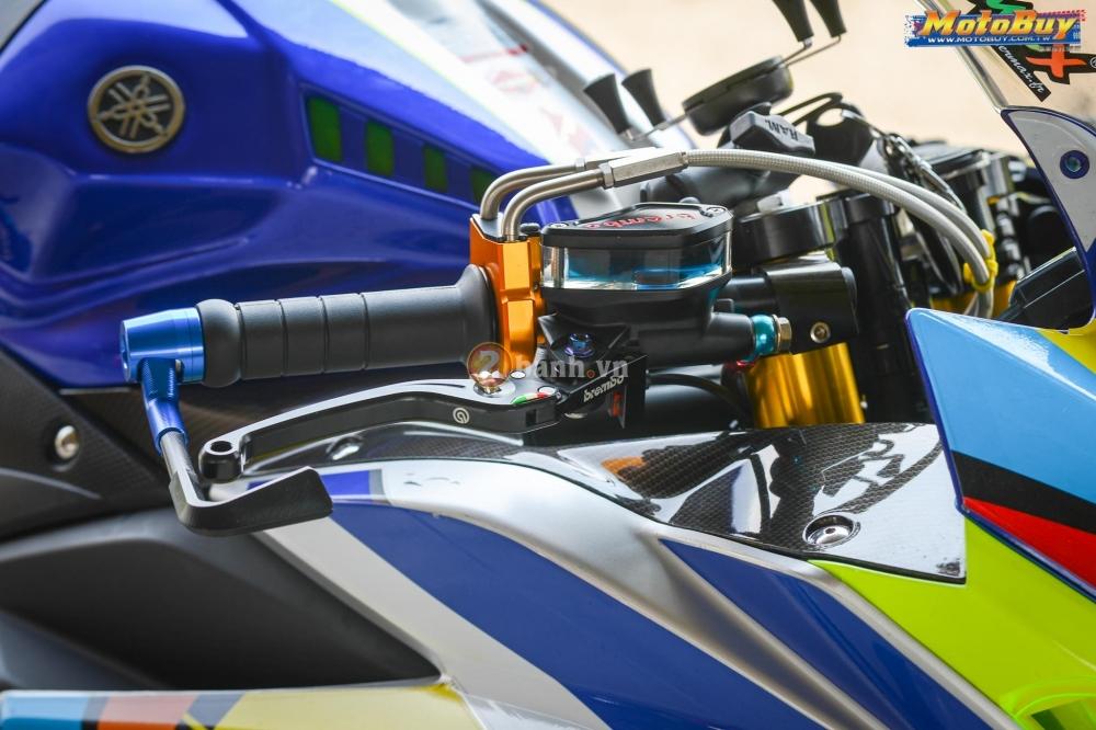 Yamaha R3 noi bat trong ban do cuc chat voi phong cach Valentino Rossi - 4