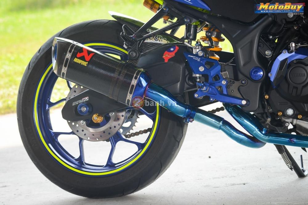 Yamaha R3 noi bat trong ban do cuc chat voi phong cach Valentino Rossi - 12