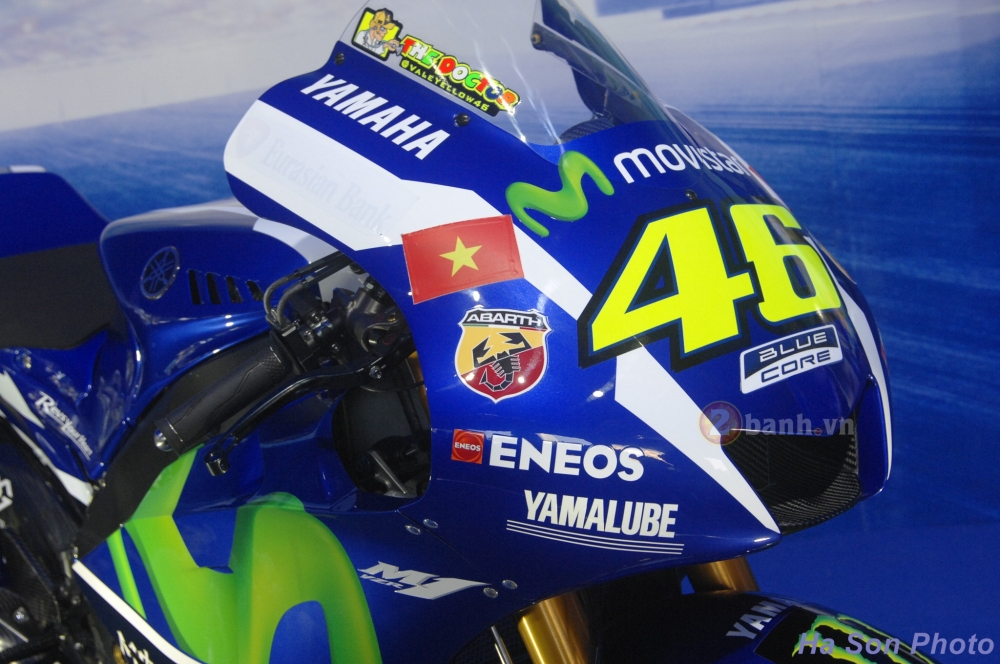 Clip Yamaha M1 phien ban Rossi lam khan gia Viet me man - 5