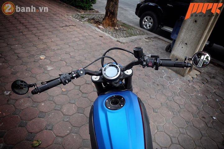 Ducati Scrambler ca tinh hon trong ban do voi phong cach Tracker - 4