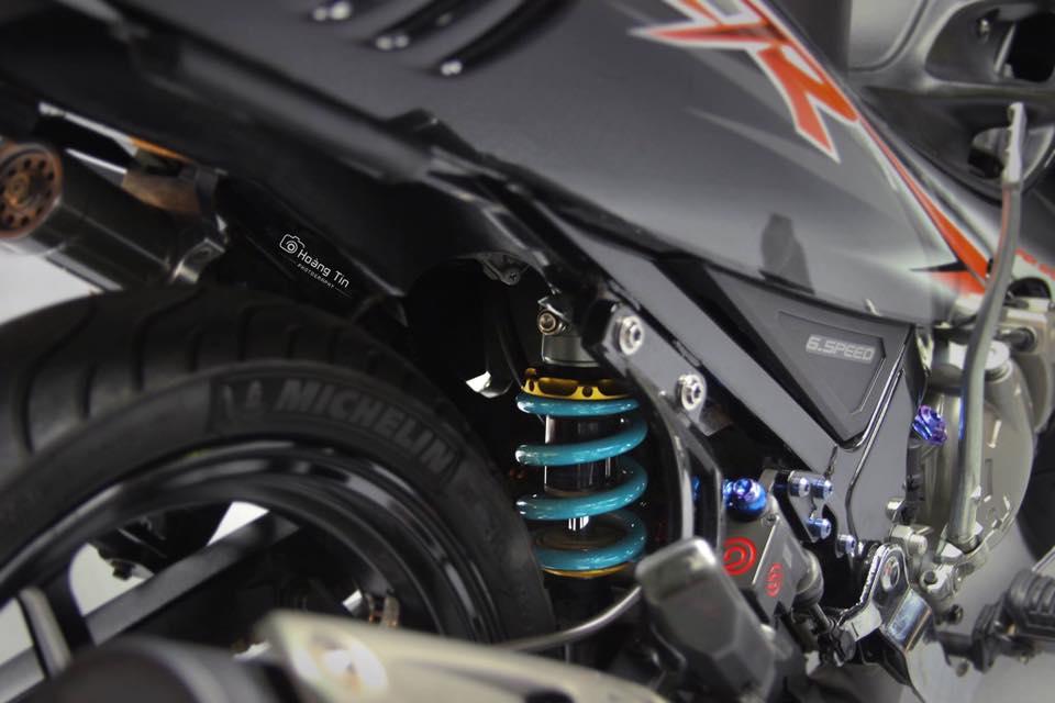 Het hon voi ban do sieu khung cua Yamaha Z125 - 7