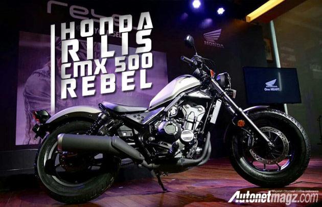 Honda CMX500 Rebel chot gia gan 250 trieu Dong tai Indonesia - 2