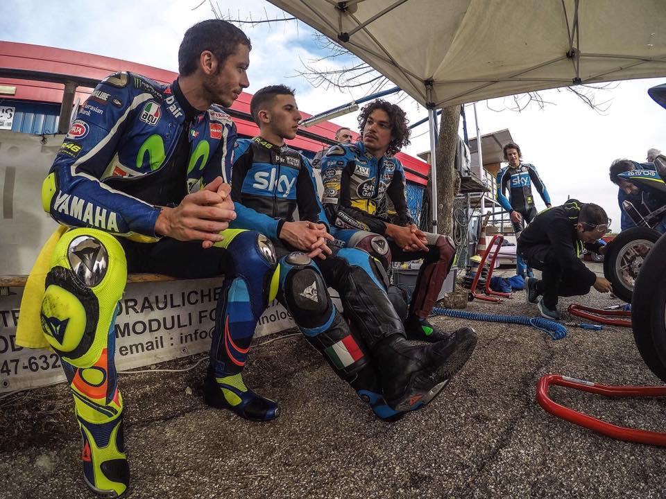 Rossi dang to ra rat hao huc truoc chang dua mo man cua mua giai MotoGP 2017 - 2