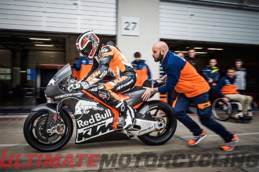 MotoGP Cac tay dua cua KTM Factory Racing da cam thay kha hai long du chua co diem - 2
