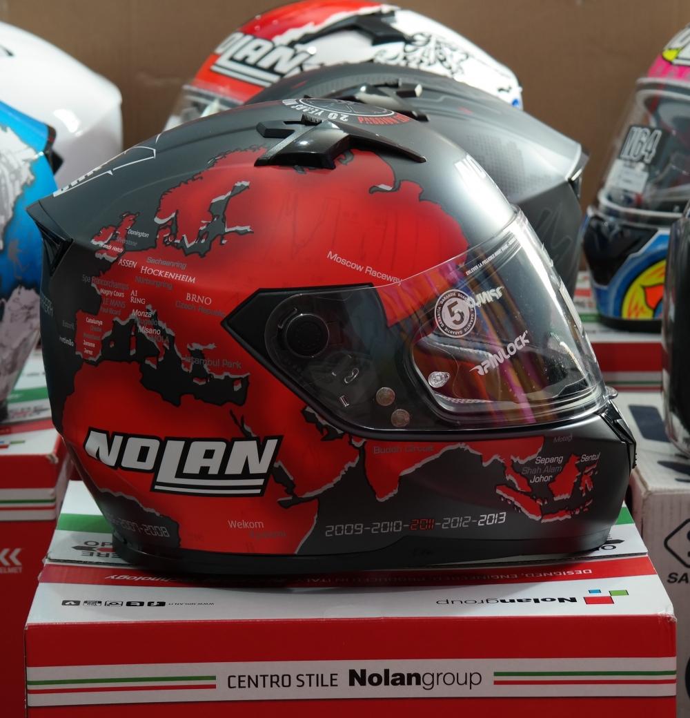 KTM Ha Noi Nhung dieu ban chua biet ve Nolan N64 N64 GERMINI REPLICA RED - 4