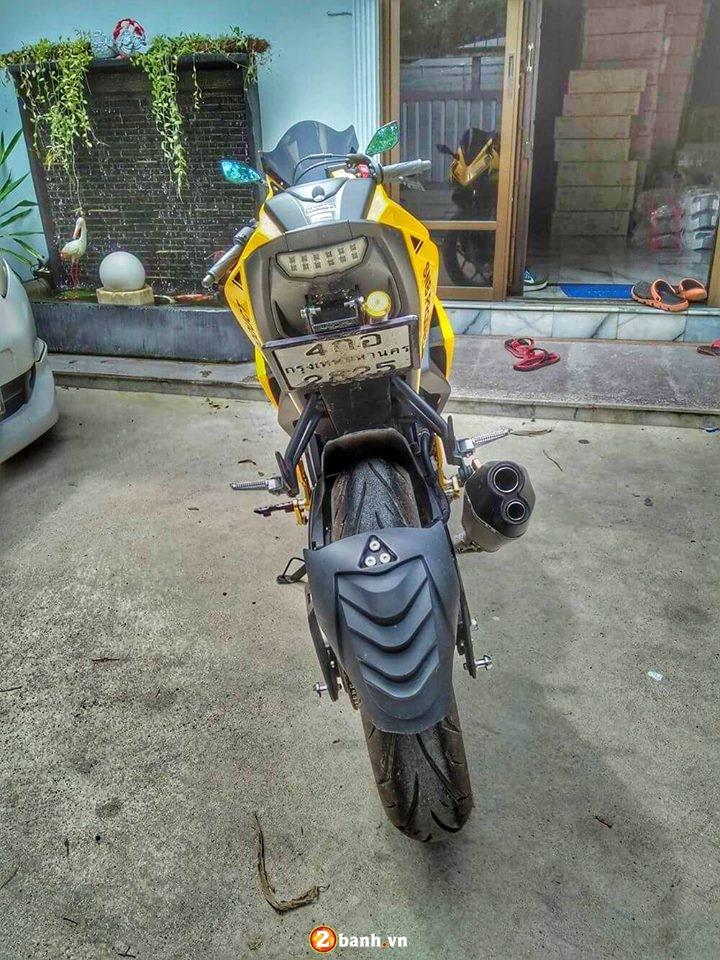 Yamaha MSlaz lot xac voi phong cach CBR150 cua nuoc ban - 4