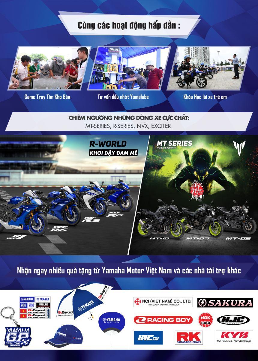 Yamaha to chuc giai dua xe Yamaha GP 2017 - 2