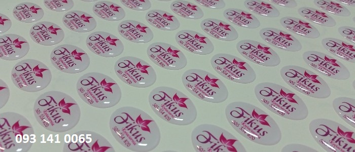 In Sticker Tem bao hanh Tem barcode so luong it - 5